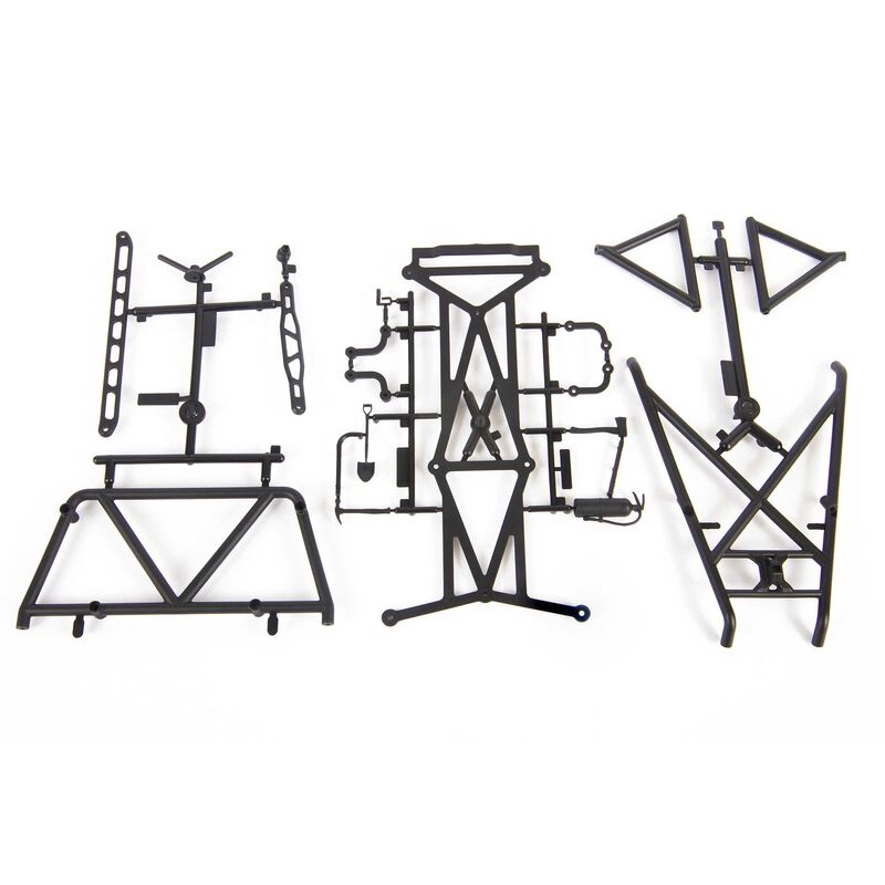Drop Bed Roll Cage Set: UMG 6x6