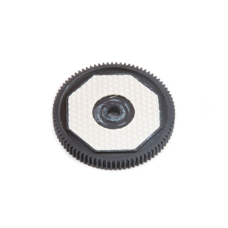 Spur Gear & Slipper Pads 48p 84t: 22S