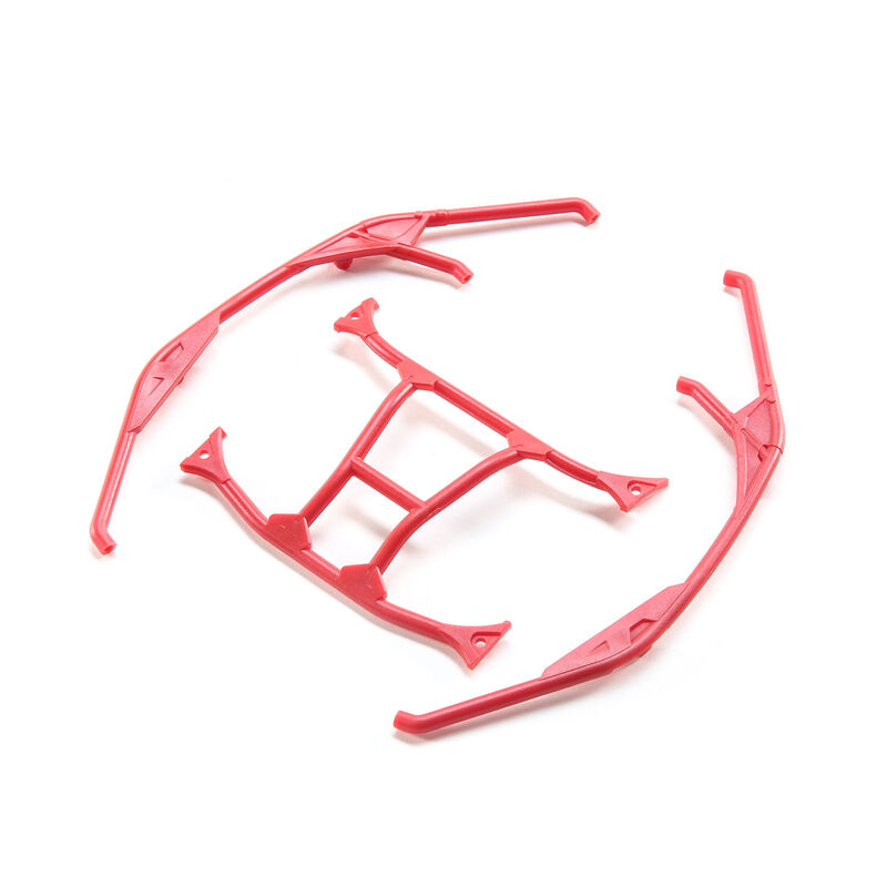 Can-Am Maverick X3 Cage, Red: Yeti Jr