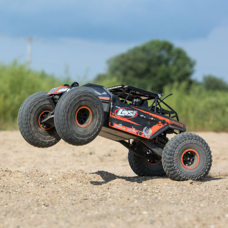 1/10 Rock Rey 4WD Rock Racer Brushless BND