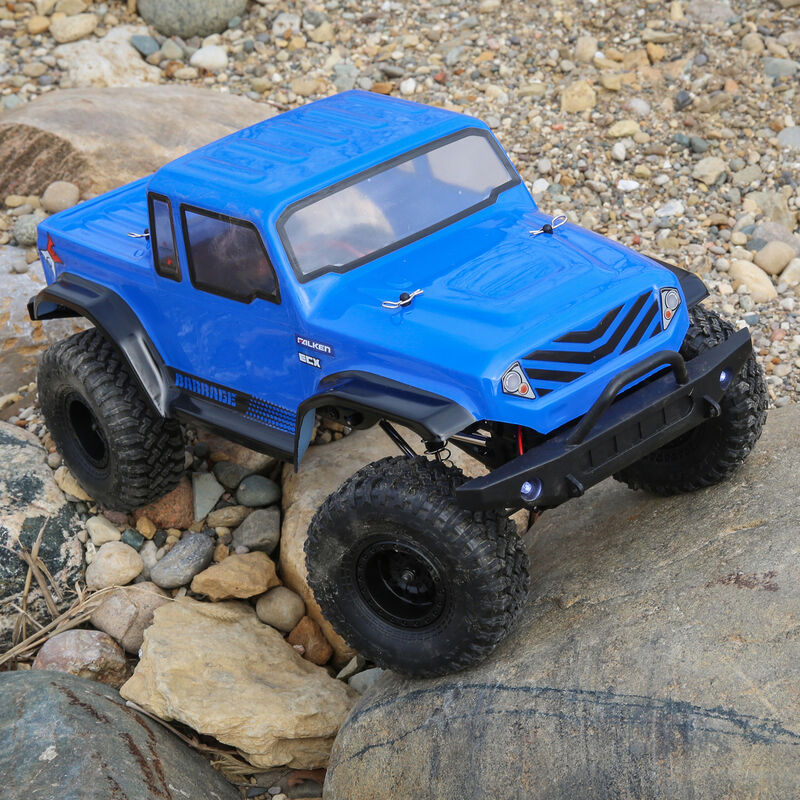 1/12 Barrage Gen2 1.55 4WD Scaler Brushed RTR: Blue