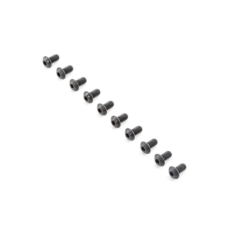Button Head Screws M5x10mm (10)