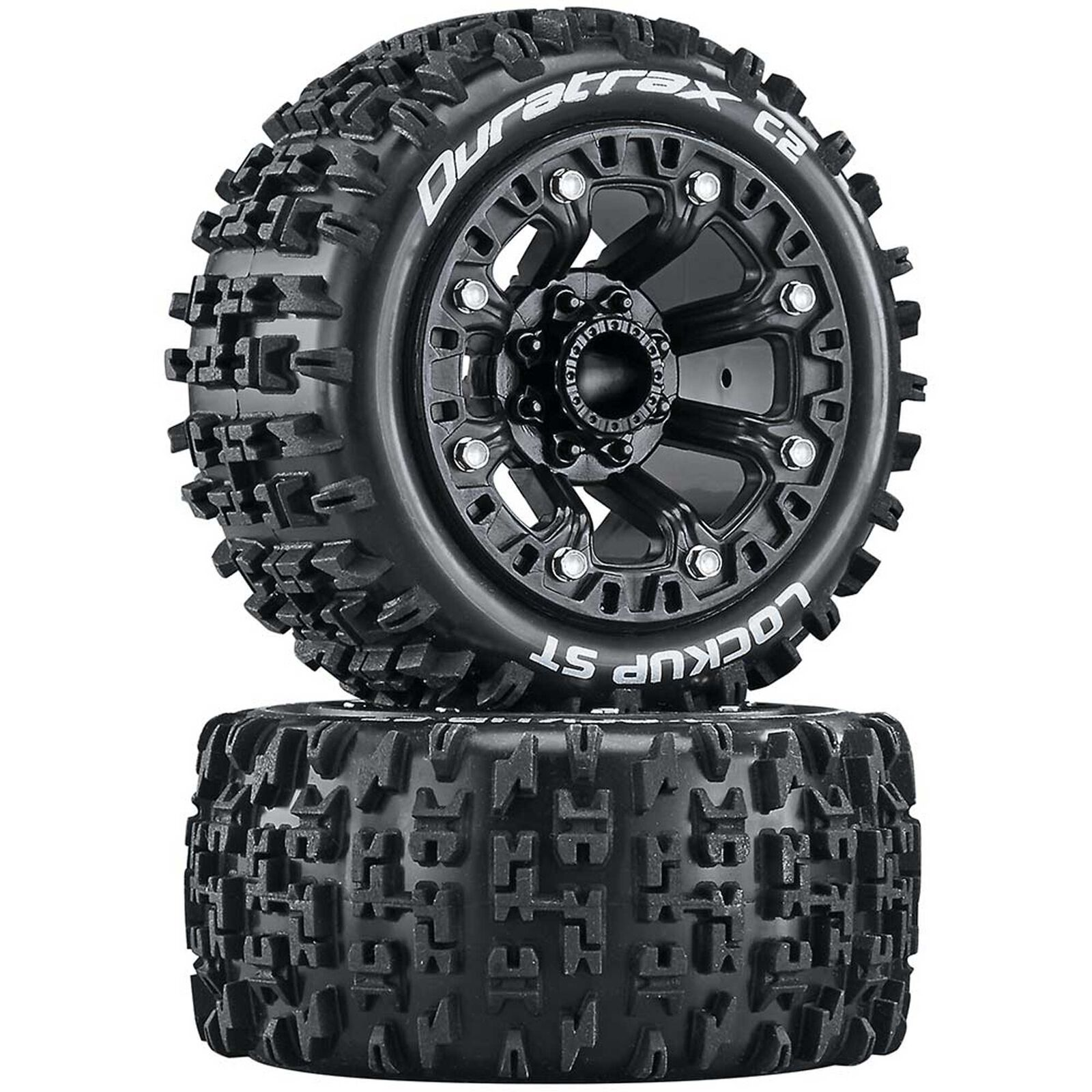 Lockup ST 2.2 Tires, Black (2)