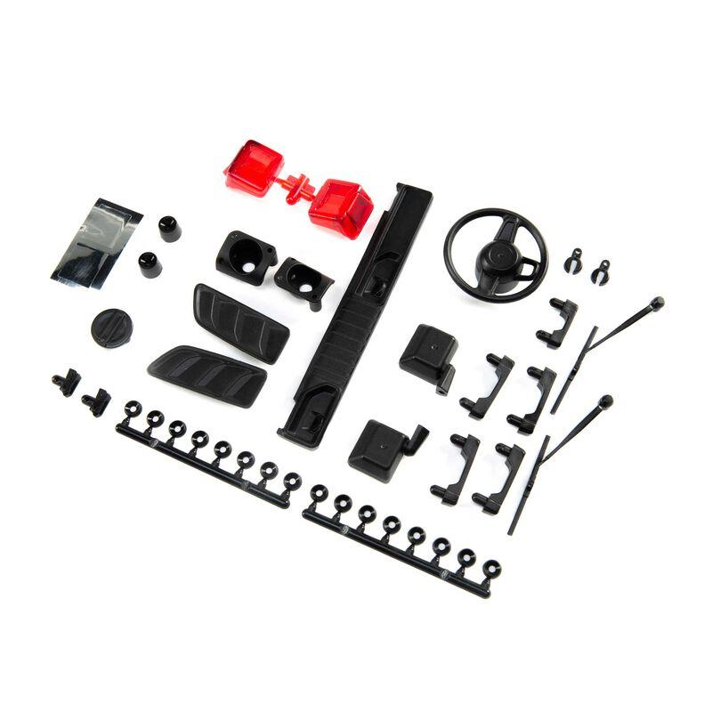 Exterior Body Detail Parts, Jeep JLU: SCX10 III