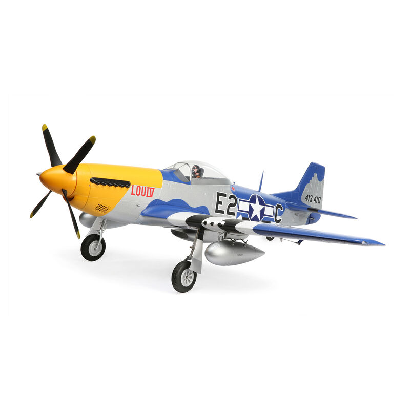 P-51D Mustang 1.5m PNP with Smart