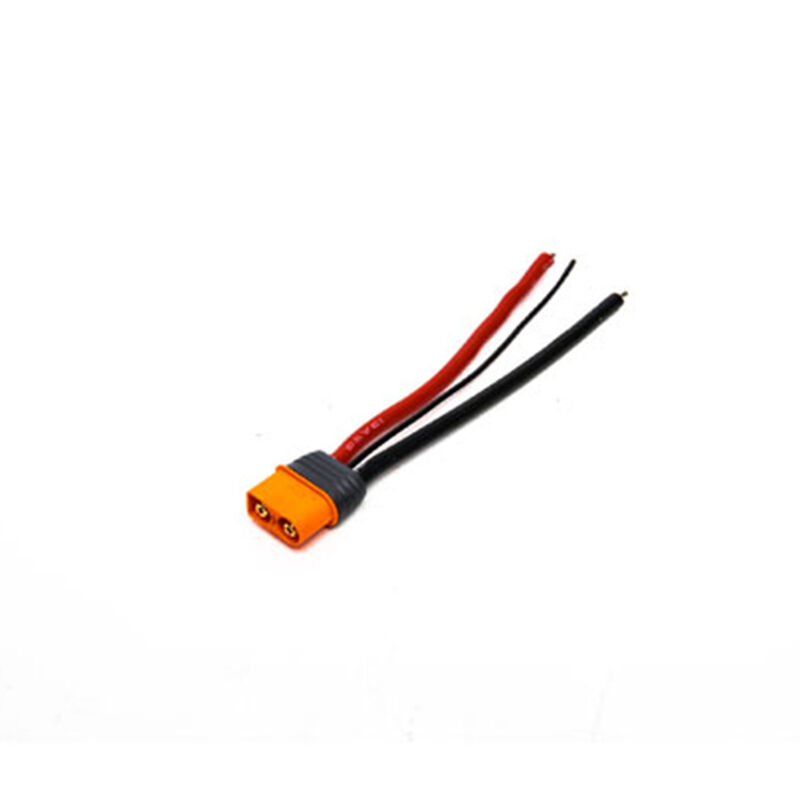 """Connector: IC3 Device with 4"""" Wires, 13 AWG"""