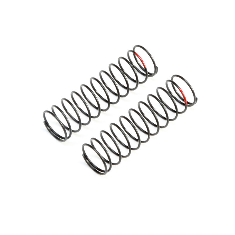 Rear Springs, Red, Low Frequency 12mm (2)