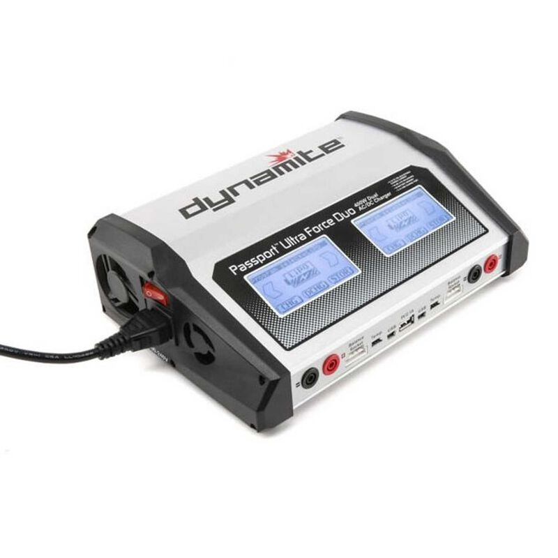 Passport  Duo 400W  Dual AC DC Touch Charger-UK