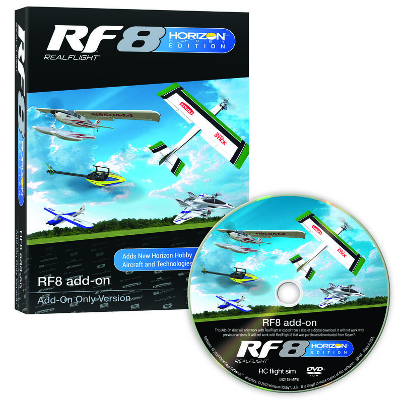 RF8 Horizon Hobby Edition Add-On