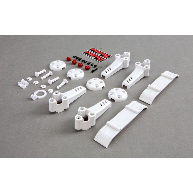 Plastic Kit, White: Vortex Pro