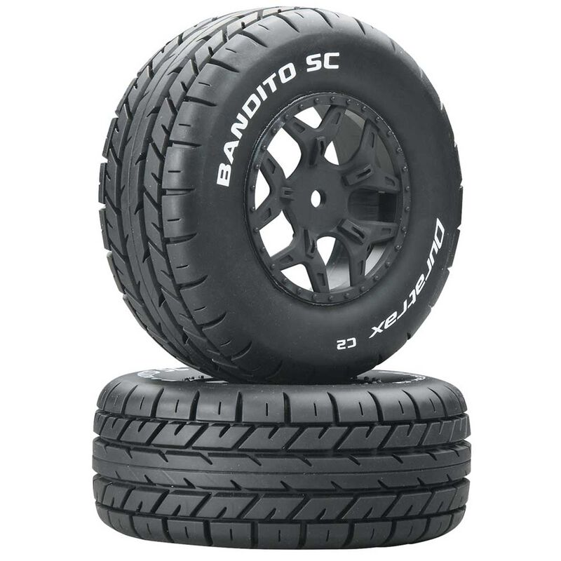 Bandito SC C2 Mounted Tires: SCTE 4x4 (2)