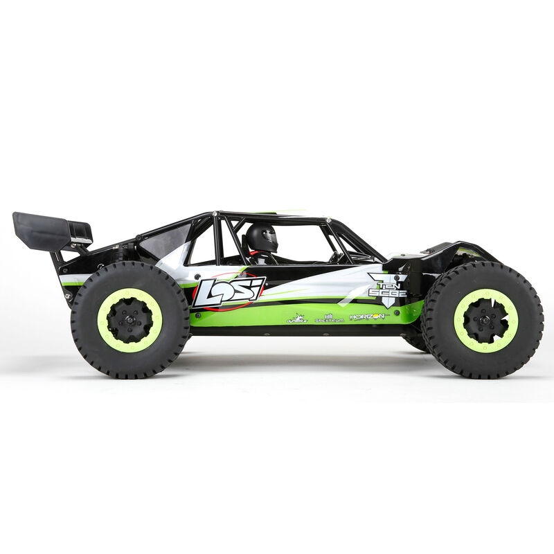 1/10 TEN-SCBE 4WD Brushless RTR with AVC, Green