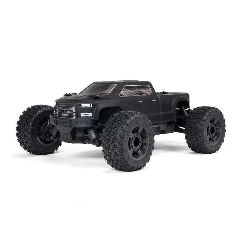 1/10 BIG ROCK 4X4 3S BLX Brushless Monster Truck RTR, Black