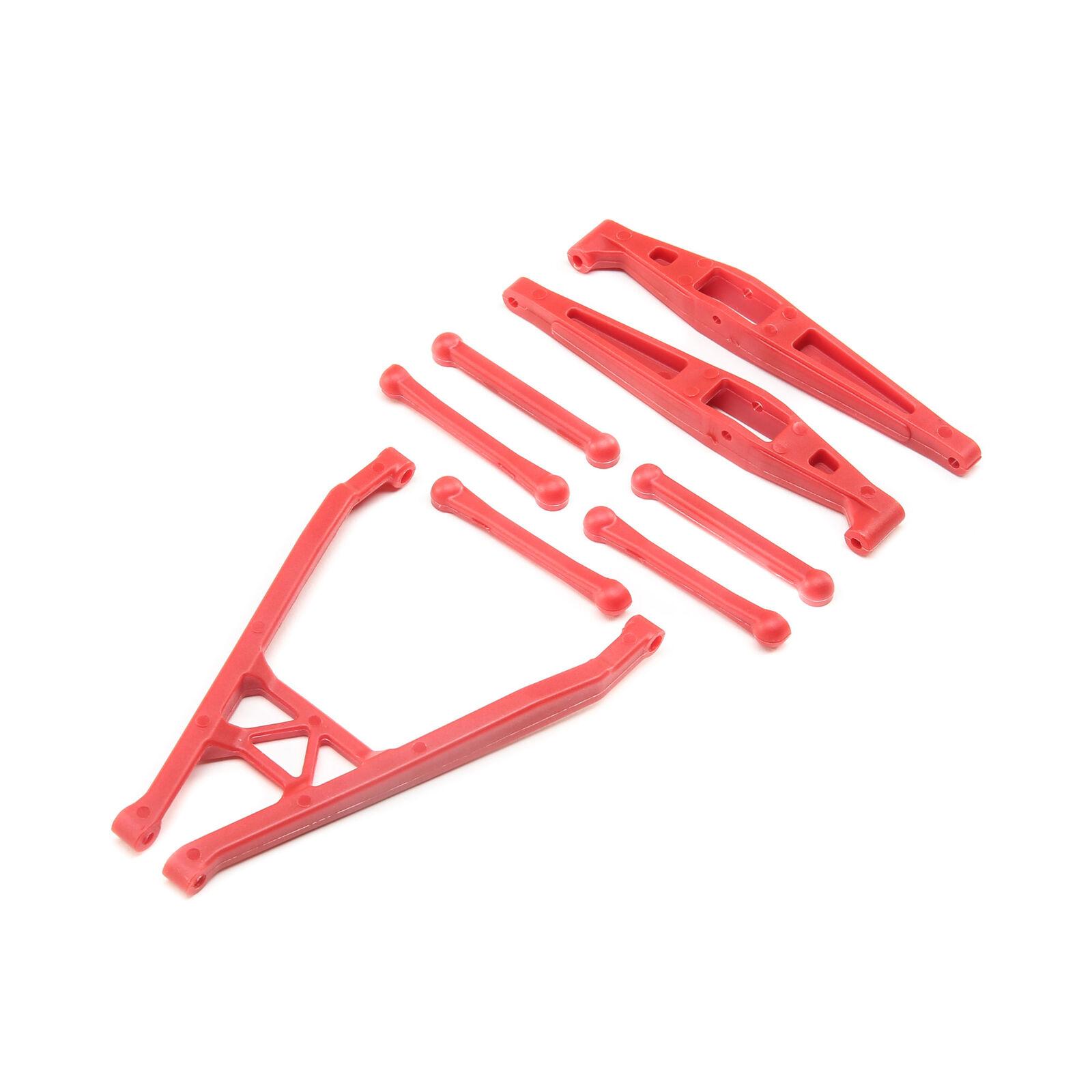 Rear Axle Link Set, Red: Yeti Jr