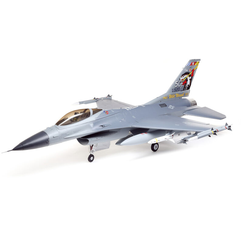 F-16 Falcon 80mm EDF Jet Smart BNF Basic with SAFE Select, 1000mm