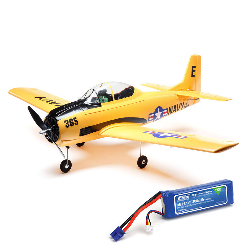 T-28 Trojan 1.1m PNP with Free Battery