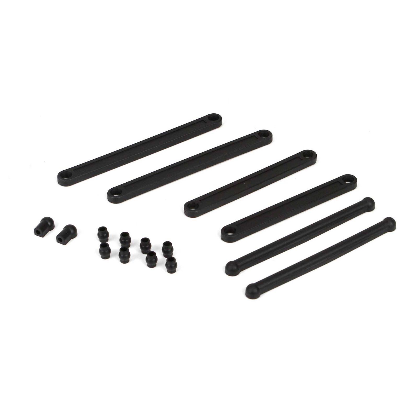Link Set, Plastic: 1/10 2WD Circuit, Ruckus, Torment