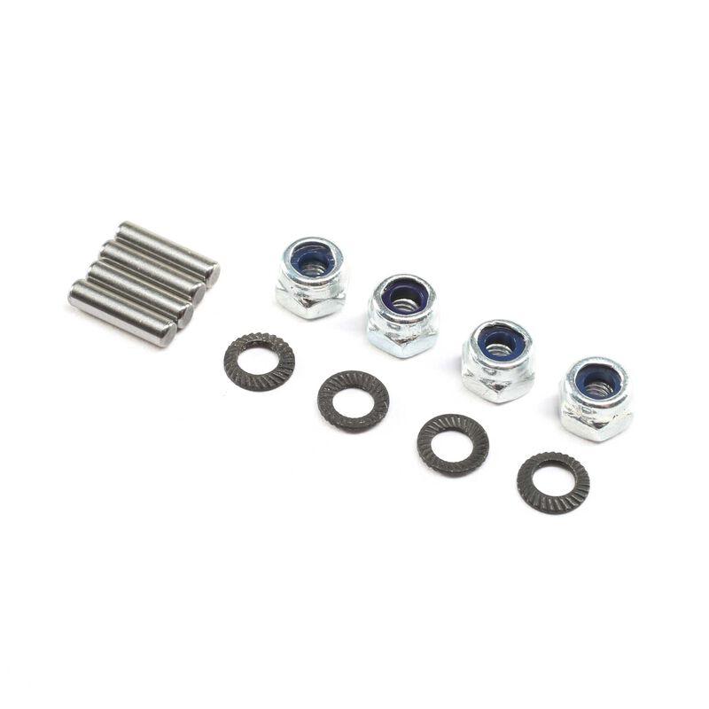Pinion Mounting Hardware (4): 22X-4