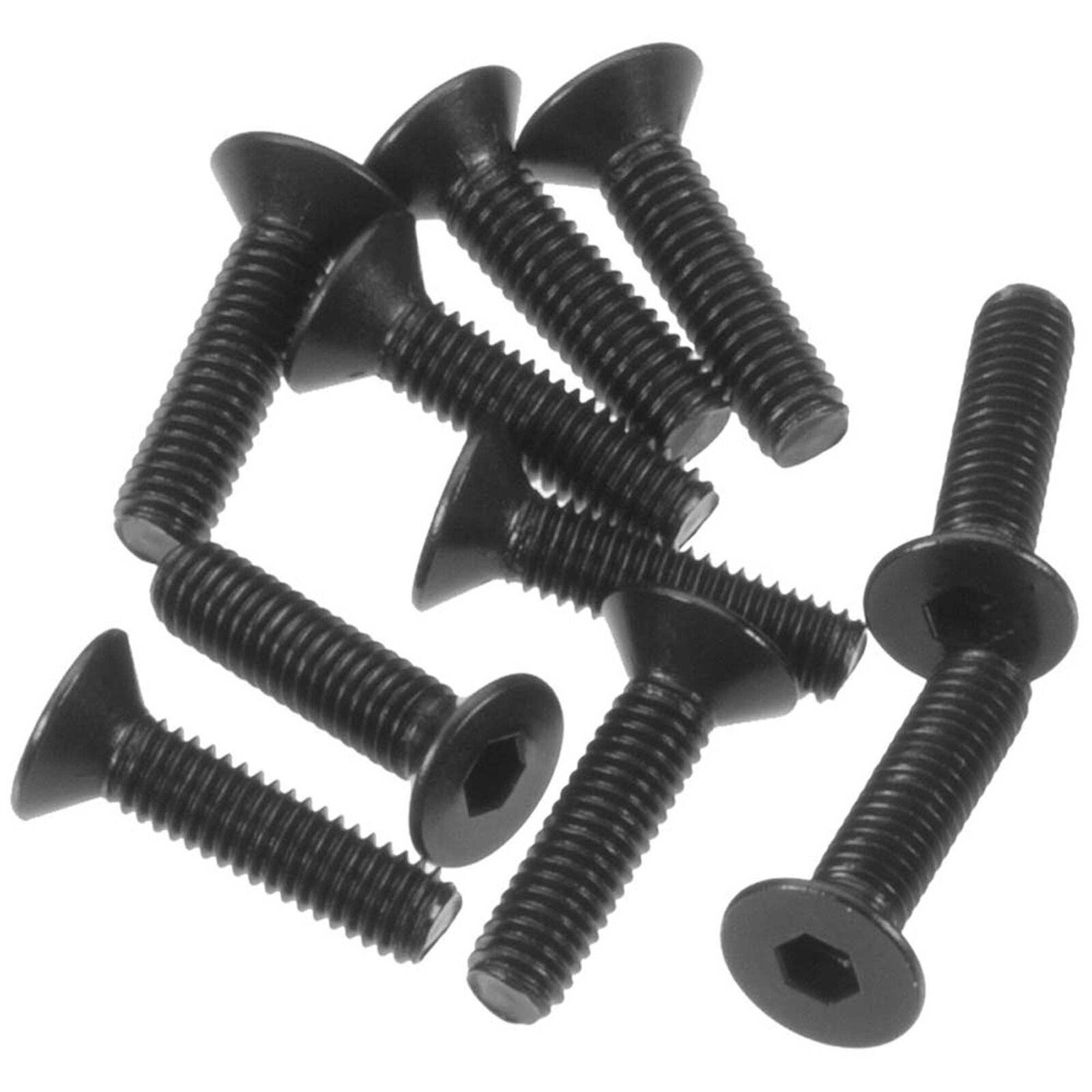 Flat Head Screw 3x12mm (10)