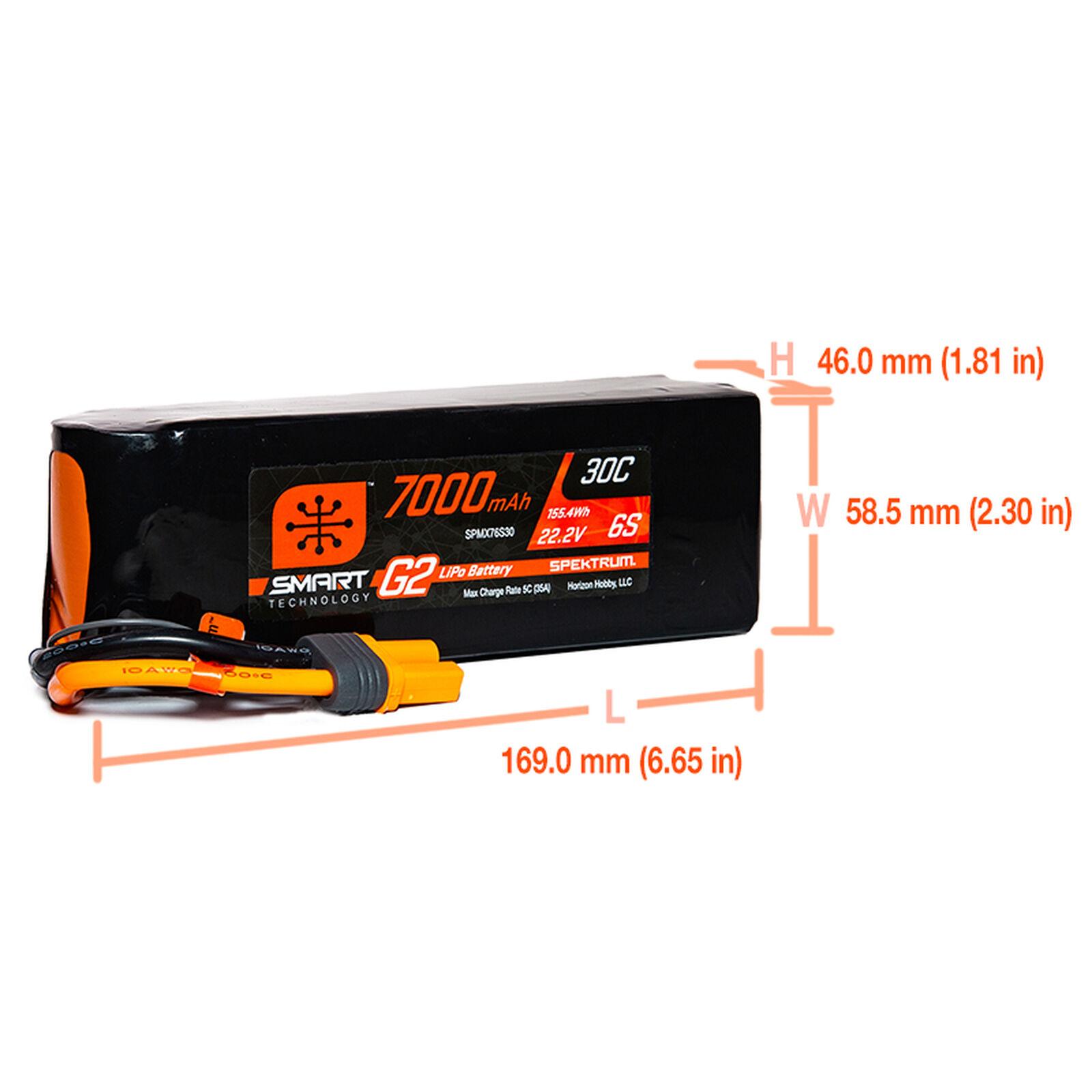 22.2V 7000mAh 6S 30C Smart LiPo G2: IC5