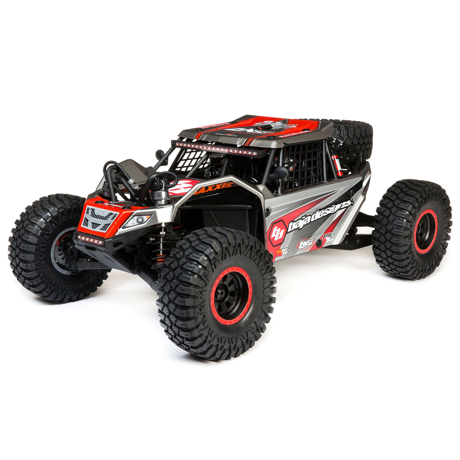 1/6 Super Rock Rey 4WD Brushless Rock Racer RTR with AVC, Baja Designs