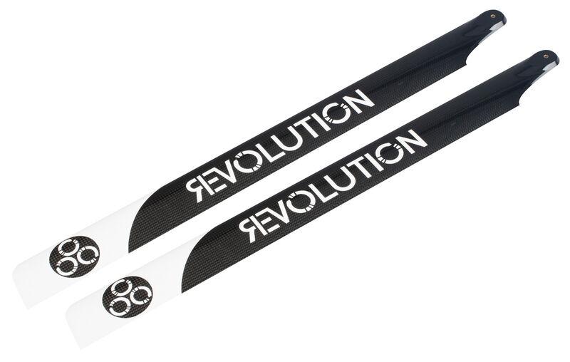 Revolution 690mm FBL 3D Carbon Hauptrotorblatt