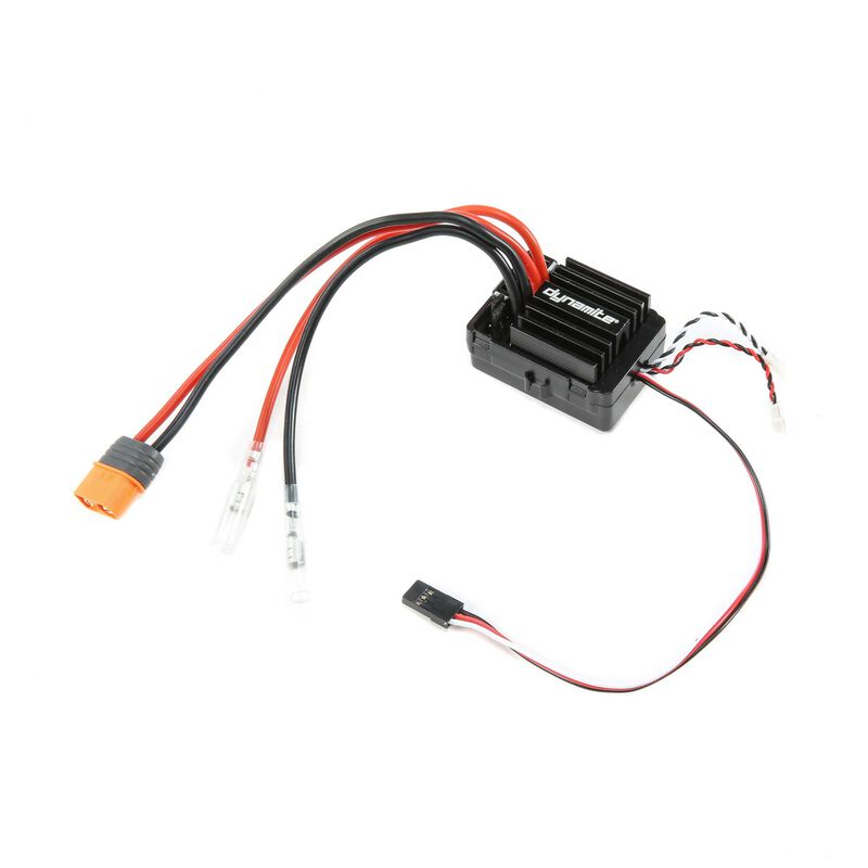 Waterproof AE-5L Brushed ESC with LED Port Light and IC3