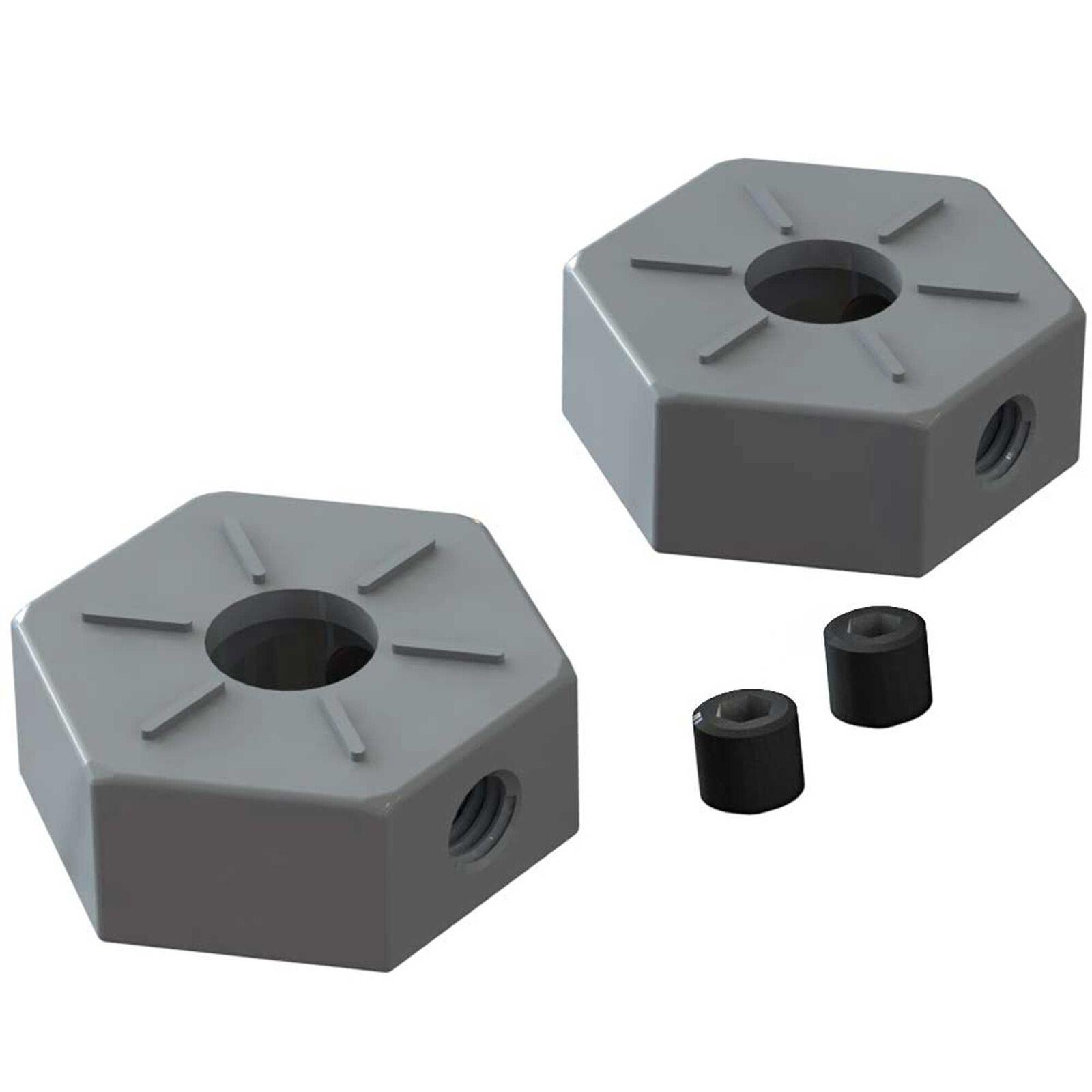 Wheel Hex Metal 14mm (2): BLX 3S