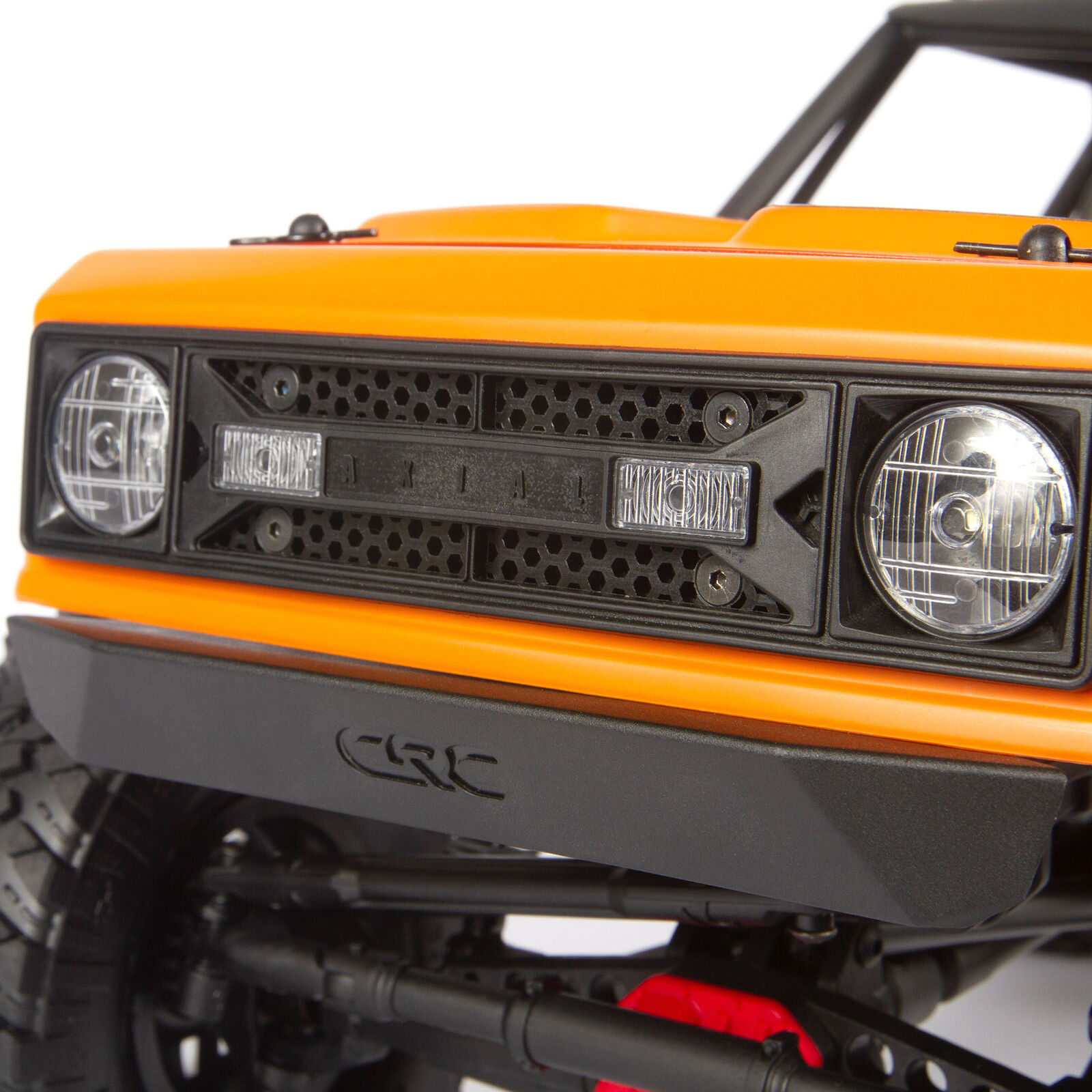 1/10 Wraith 1.9 4WD Rock Crawler Brushed RTR, Orange