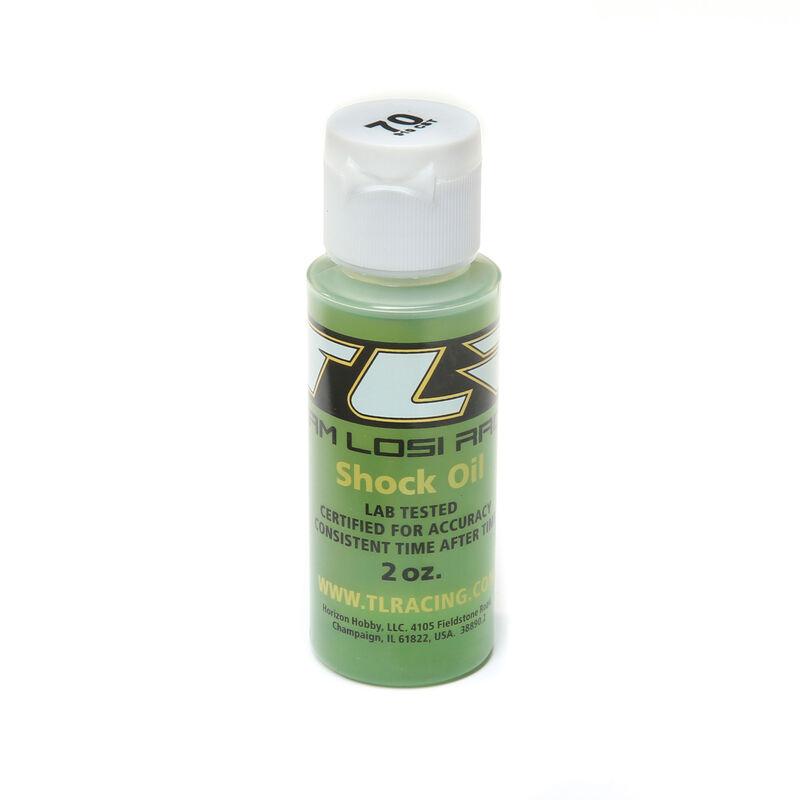 Silicone Shock Oil, 70wt, 2oz