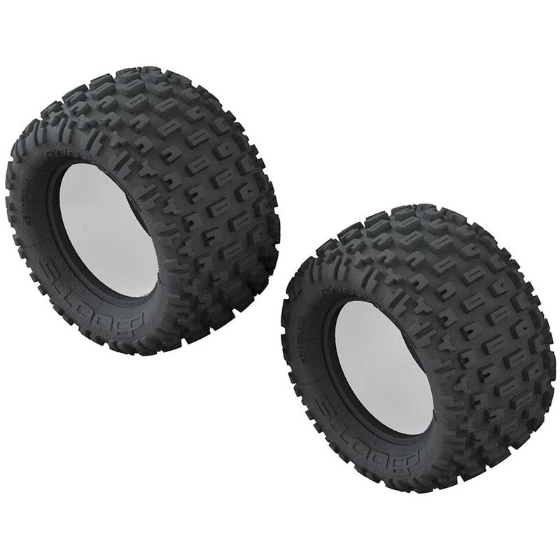 1/10 dBoots Fortress Monster Truck Front/Rear 2.8 Tire & Inserts (2)