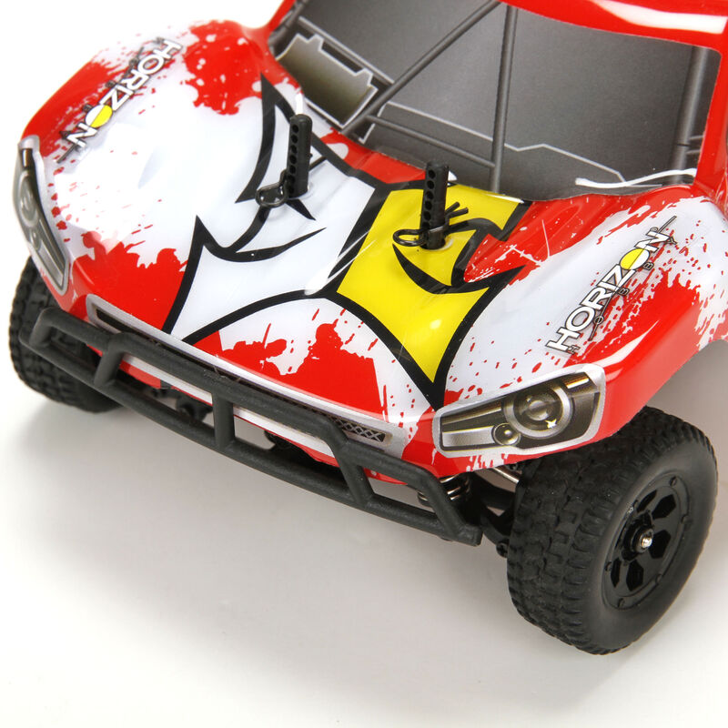 1/24 Torment 4WD SCT RTR, Black/Red