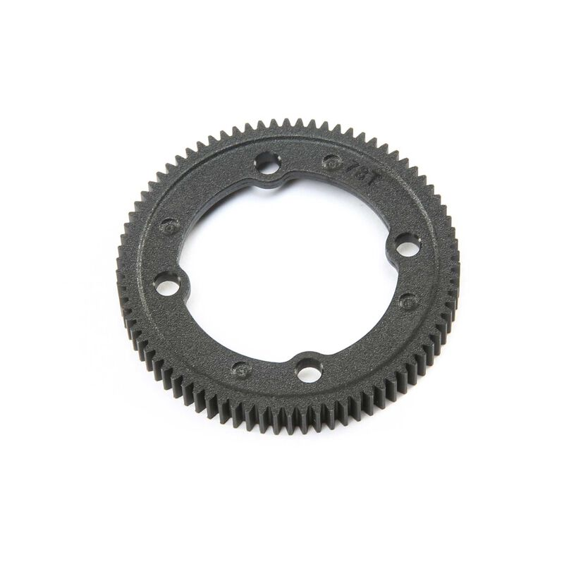 78T Spur Gear Center Diff: 22X-4
