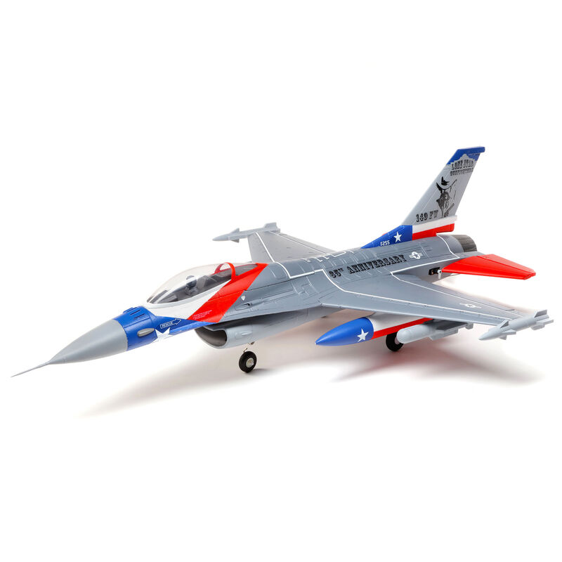 F-16 Falcon 64mm EDF BNF Basic with AS3X and SAFE Select, 729mm