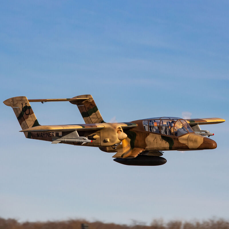 OV-10 Bronco 30cc ARF with Landing Gear Set