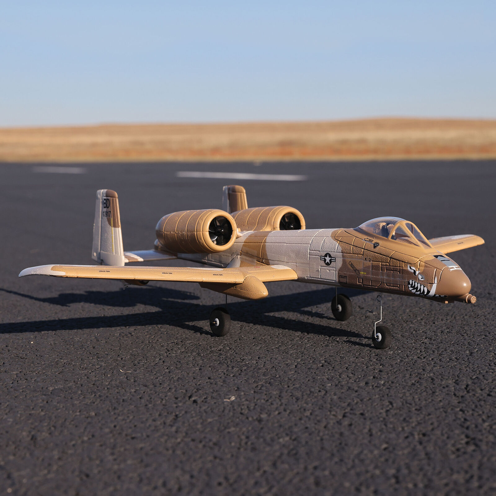 UMX A-10 Thunderbolt II 30mm EDF BNF Basic with AS3X and SAFE Select, 562mm