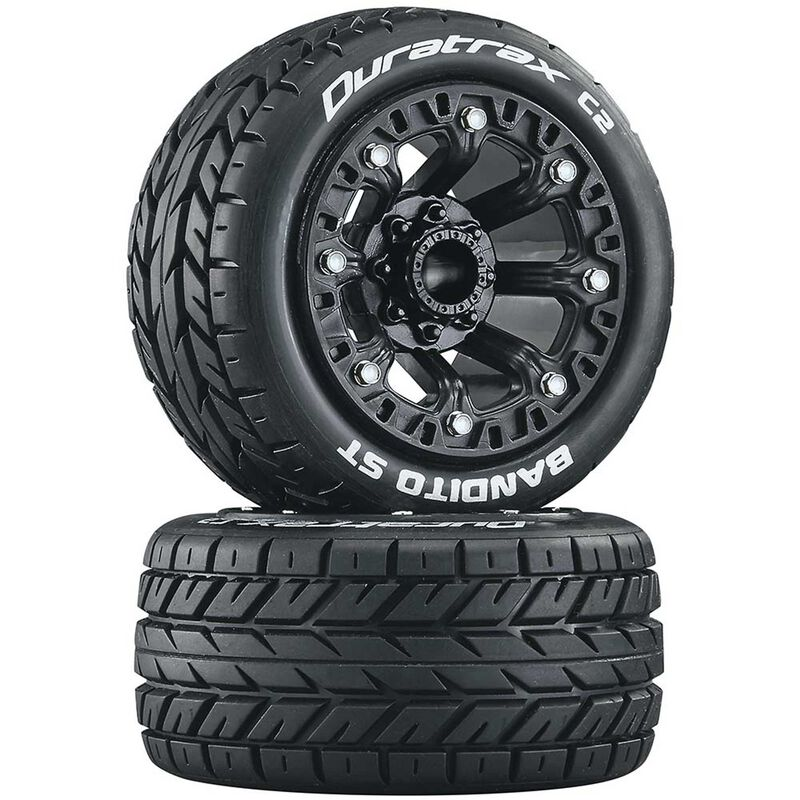 Bandito ST 2.2 Tires, Black (2)
