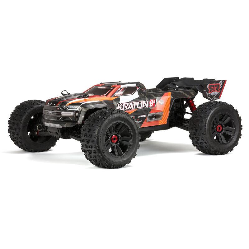 1/5 KRATON 4X4 8S BLX Brushless Speed Monster Truck RTR, Orange