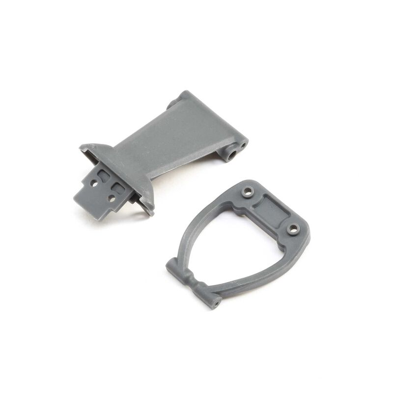 Front Bumper Skid Plate&Support Gray  Rock Rey