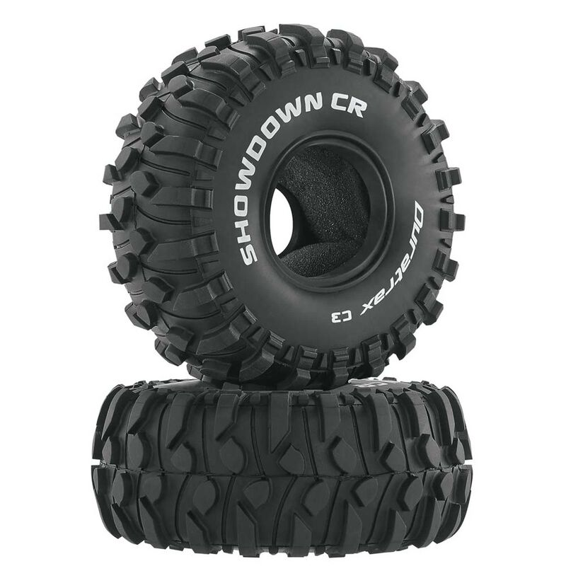 "Showdown CR 1.9"" Crawler Tires C3 (2)"