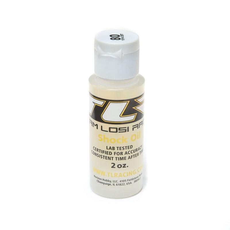 Silicone Shock Oil, 80wt, 2oz