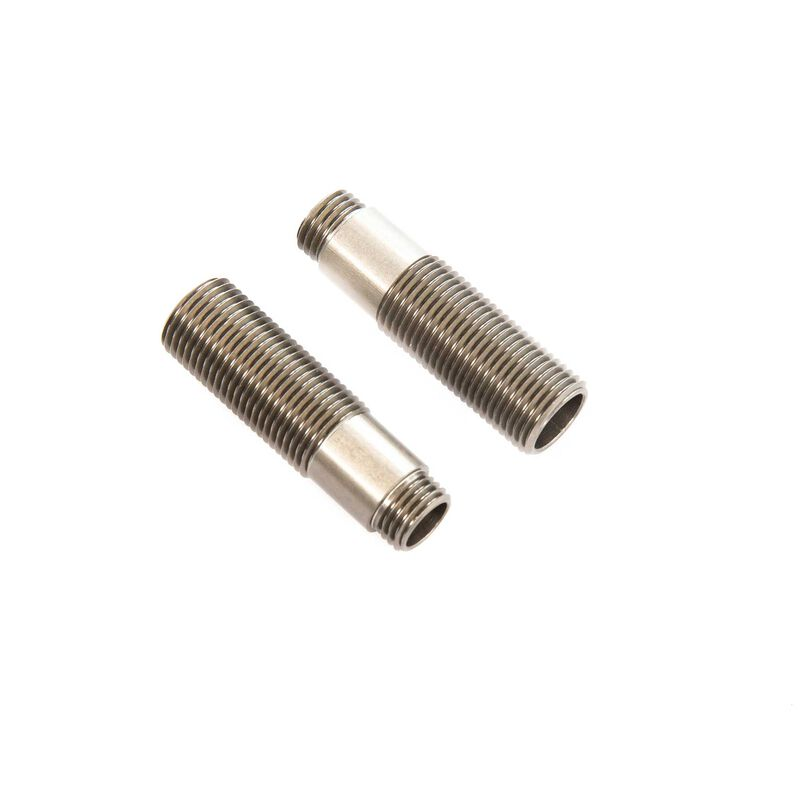 Threaded Shock Body Alum HA, 11x38mm (2): SCX10 III