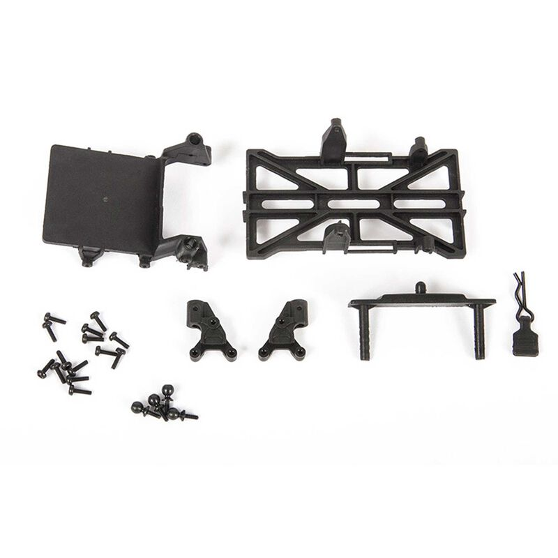 Chassis Parts Long Wheel Base, 133.7mm: SCX24