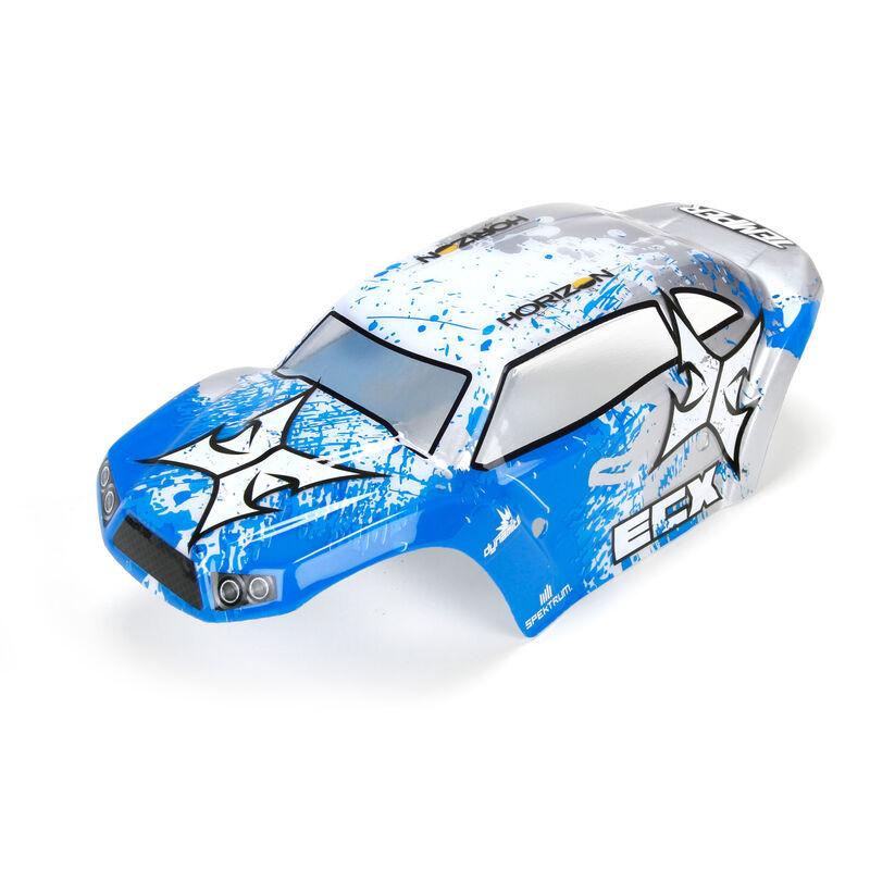 1/18 4WD Temper - Carrosserie peinte et décorée