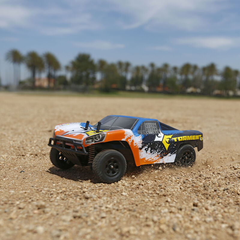 1/24 Torment 4WD SCT RTR, Black/Orange