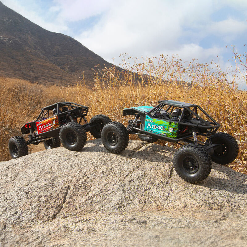 1/10 Capra 1.9 Unlimited 4WD Trail Buggy Brushed RTR, Red