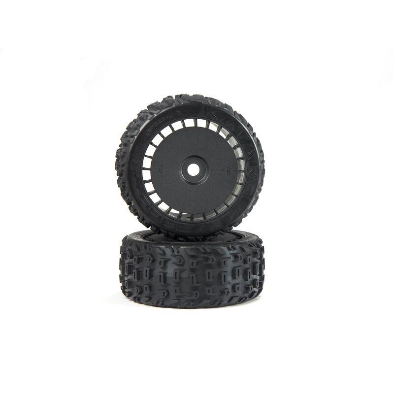 dBoots Katar T Belted 6S Tire Set Glued (Blk) (2)