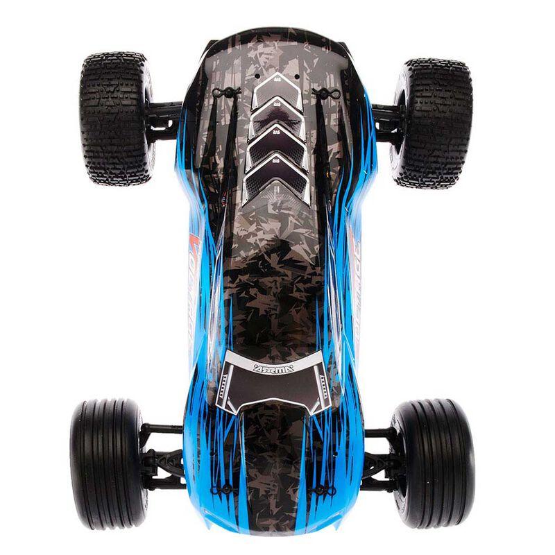 1/10 FAZON VOLTAGE 2WD Brushed Mega Truck RTR, Blue/Black
