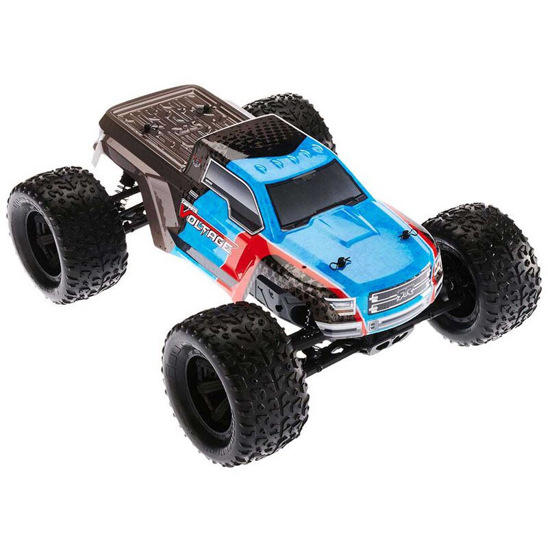 Granite Voltage 2WD Mega RTR Blue Black