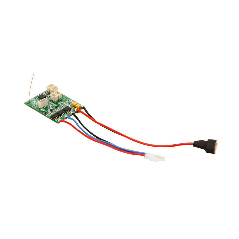 AS6410NBL DSMX 6-Channel AS3X Receiver with Brushless ESC